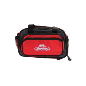 Berkley BATBSFW Tackle Bag – Red/Gray Tackle Bag Fishing
