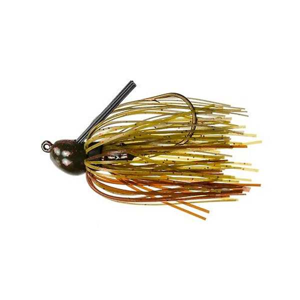 Strike King Bitsy Bug 3/16oz Green Pumpkin Fishing