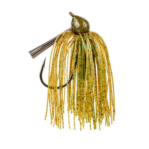 Strike King Premium Pro-Model Jig 3/8oz Pumpkin Green Fishing