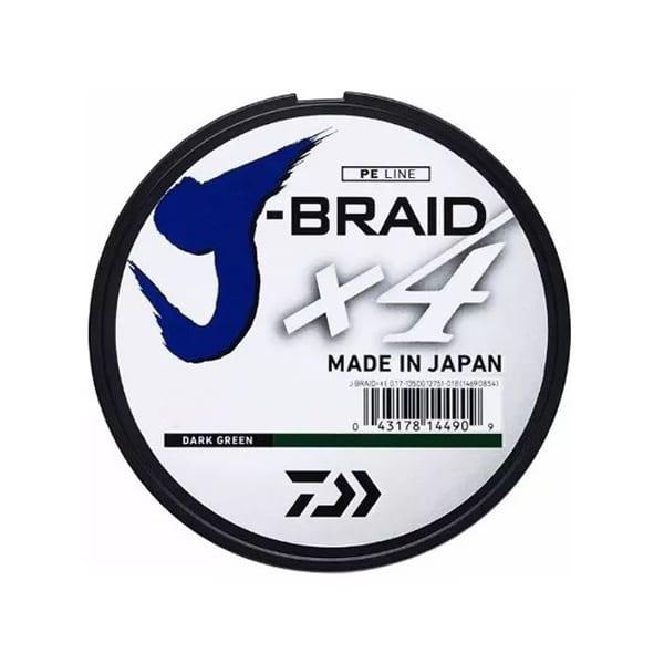 Daiwa J-Braid x4, 20lb 300yd Line Island Blue Accessories