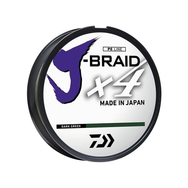 Daiwa J-Braid x4 20Lb-150Dg Braided Line – Green Fishing