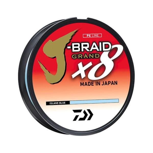 Daiwa Jbraid Grand x8 30lb 300yd Braided Line Accessories