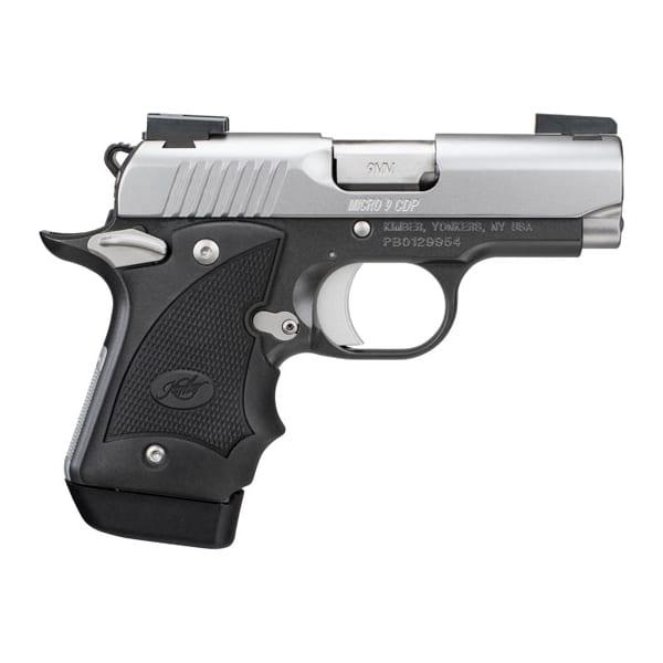 Kimber Micro 9 CDP Gray/Black 9mm Semi-Auto Handgun Firearms