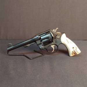 Pre-Owned – Smith & Wesson U.S. Army 1917 45 LC 5.5″ Revolver (1 of 200) Double Action