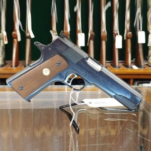 Pre-Owned – 1967 Colt National Match Single-Action .45 ACP Handgun Handguns