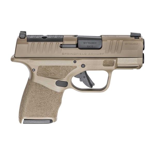 SPRGFLD HELLCAT OSP 9MM 3″ FDE Firearms