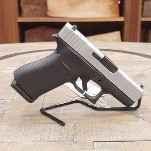 Pre-Owned – Glock G43X 3.4″ 9mm Semi-Auto Handgun Firearms