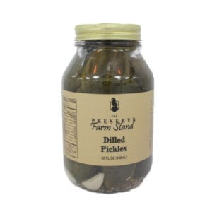 Dilled Pickles, (12) 32oz. Preserve Farm Stand