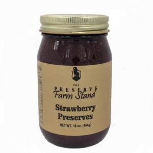 Preserve Farm Stand – Strawberry Preserves, 16oz Preserve Farm Stand