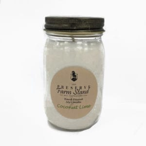 Preserve Farm Stand – Coconut Lime 16oz Soy Candle Preserve Farm Stand