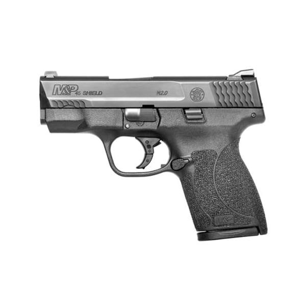 S&W M&P SHIELD Striker Fire .45 ACP 3.3″ Thumb Safety MA Compliant Pistol Firearms