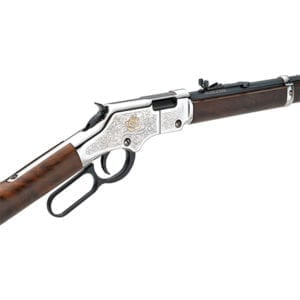Henry American Beauty 20″ .22S/L/LR Lever-Action Rifle Firearms
