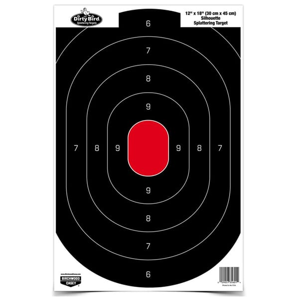 B/C DIRTY BIRD SLHOUT TGT 8-12 Firearm Accessories