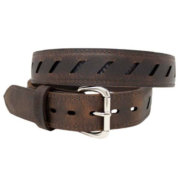 Versacarry Compound Double Ply Gun Belt, 36″ Leather/Kydex Belts