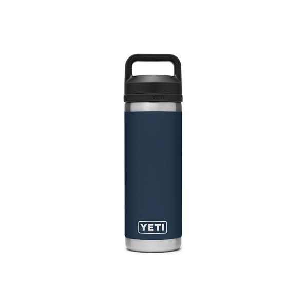 Yeti 18oz Rambler Bottle – Navy Camping Gear