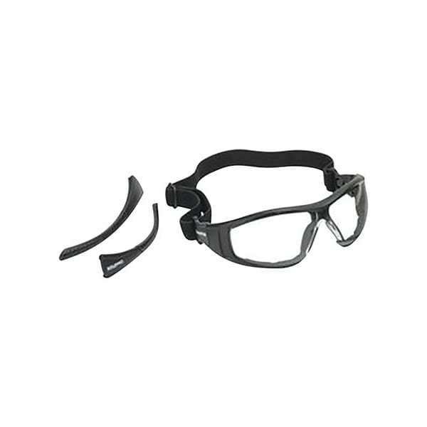 Champion Traps & Targets Closed Frame Shooting Glasses – Black Frame Eye & Ear Protection