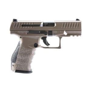 Walther PPQ M2 Semi-Auto 9MM 4″ Coyote Tan Pistol Firearms