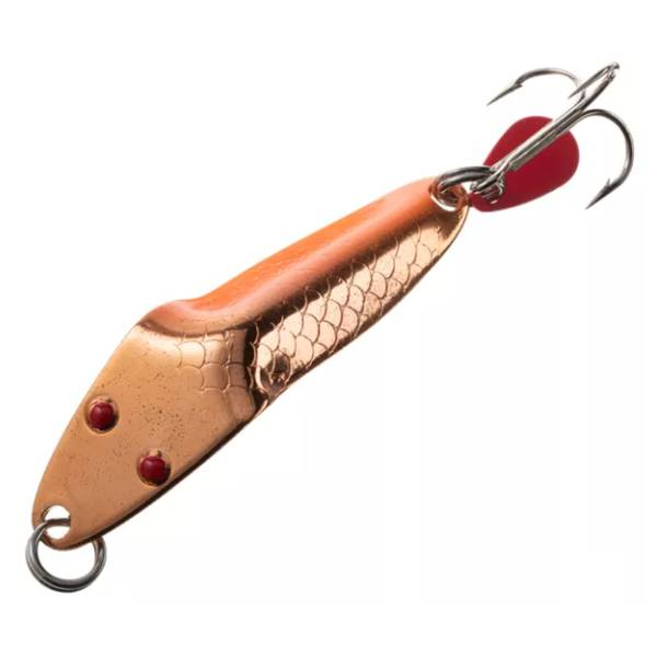 Al's Lil' Forty Niner Lure – Copper Orange Fishing