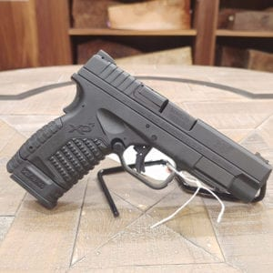 Springfield XDS DAO 9mm 4″ Pistol Double Action