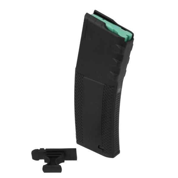 Troy Industries Battlemag for AR-15 – 30 Round Capacity – Black Polymer Firearm Accessories