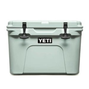 YETI Tundra 35 Hard Cooler – Sagebrush Green Camping Essentials