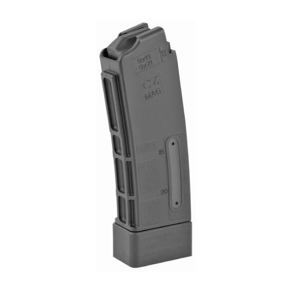 CZ-USA Scorpion Magazine, 9mm Luger – 20 Round Firearm Accessories