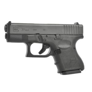 Glock GEN4 G27 Double .40SW 3.42″ Pistol Double Action