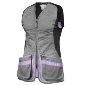Beretta Women's Silver Pigeon EVO Vest – Grey & Lavender Clothing