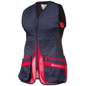 Beretta Women's Silver Pigeon EVO Vest – Blue Total Eclipse & Red Clothing