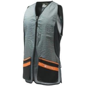 Beretta Silver Pigeon EVO Vest – Grey & Orange Clothing