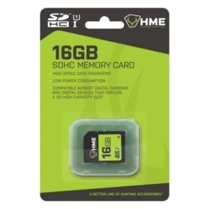 HME 16GB SD Memory Card Camping Essentials