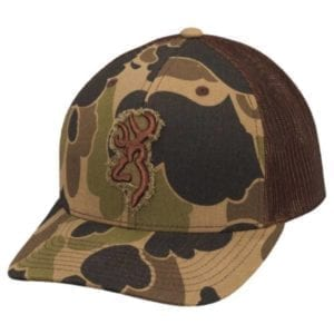 Browning Centerfire Flashback Mesh Cap – Bubble Camo Hats