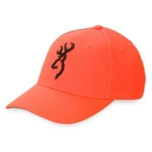 Browning Safety Cap with 3-D Buckmark Hats