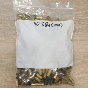 Once Fired Brass 40S&W 1000Rds Firearm Accessories