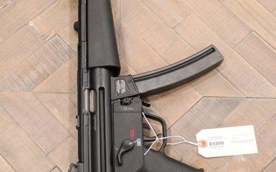 Pre Owned – Heckler & Koch SP5 Semi-Auto 9mm 8.86″ Handgun