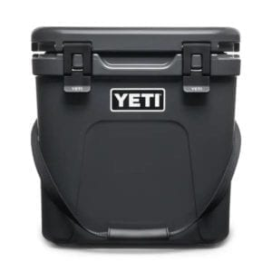 YETI Roadie 24 Hard Cooler – Charcoal Camping Essentials