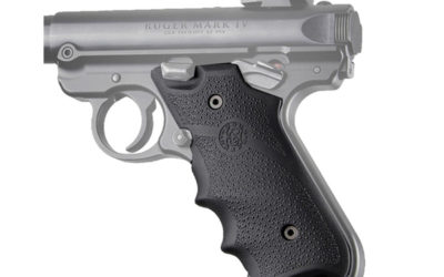 Hogue Ruger Mark IV Rubber Grip Black