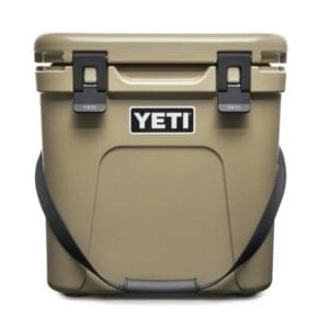 YETI Roadie 24 Hard Cooler – Tan Camping Essentials