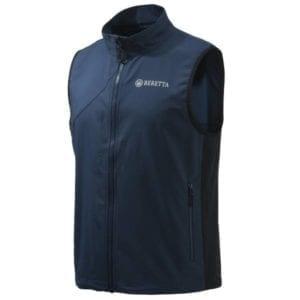 Beretta Windshell Vest – Blue Hunting