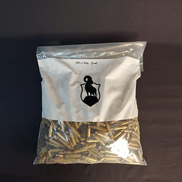 Once Fired Brass 556 1000 Rds Firearm Accessories