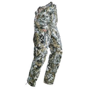 Sitka Stratus Bib Optifade Pants Clothing