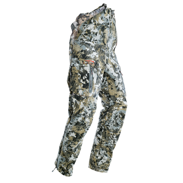 Sitka Stratus Bib Optifade Pants Clothing