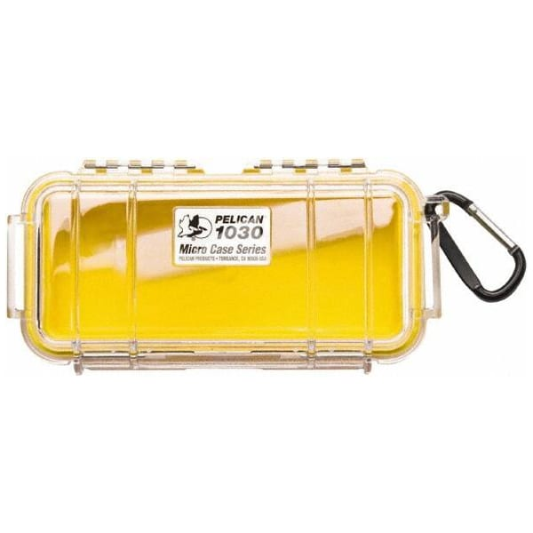 Pelican 1030 Micro Case Series Dry Box – Yellow Accessories