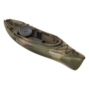 Vapor 10 Angler Single Seat Kayak – Brown Camo Boating