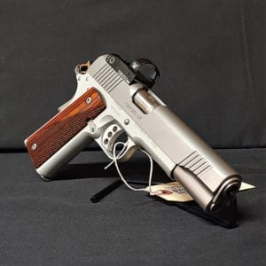 Pre Owned – Kimber Stainless LW SA 9mm 5″ Handgun Firearms