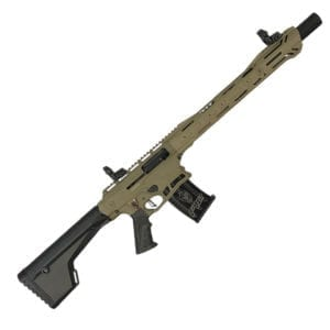 Typhoon Defense F12 Semi 12 Gauge 18.5″ FDE Shotgun 10 Gauge