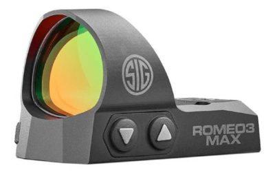 Sig Sauer ROMEO3MAX 1x30mm, 6 MOA
