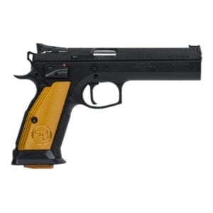 CZ 75 Tactical Sport Orange Semi-Auto 9mm 5.23″ Handgun Firearms