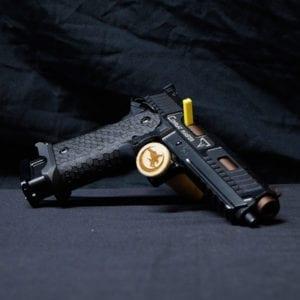 Pre-Owned –  STI Combat Master Semi-Auto 9mm 5.4″ Handgun Firearms