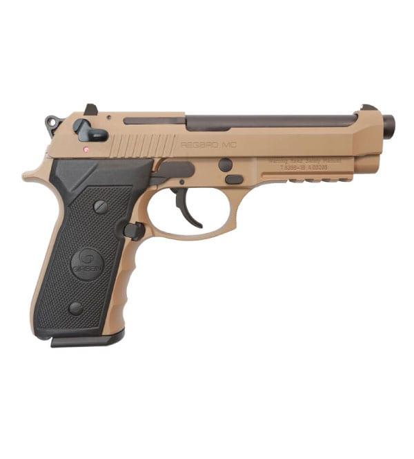 GiRSan Regard SA 9mm 4.9″ FDE Handgun Firearms